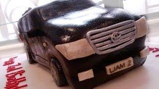 getlinkyoutube.com-How to make a car cake (Toyota Land Cruiser)