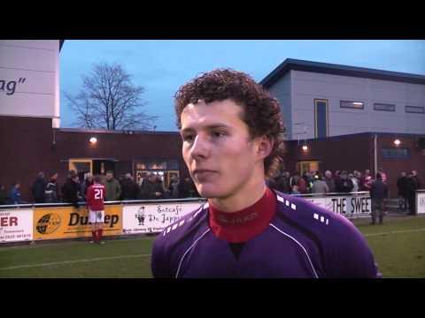 Erick Jansema over doelpunt en gelijkspel tegen Staphorst