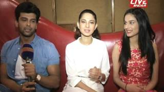 getlinkyoutube.com-JENNIFER WINGET, KUSHAL TONDON, ANERI INTERVIEW FOR THEIR SHOW BEHAYD