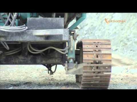 Teksomak Sondaj Makineleri / Driling Rigs / Máquina de Perforación
