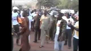 Arrivee du President Moussa MARA à la ceremonie de cloture de Campgane de Assetou SANGARE