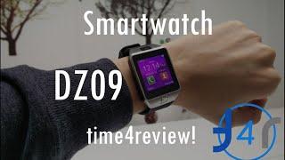 getlinkyoutube.com-Smartwatch DZ09 Review ESPAÑOL