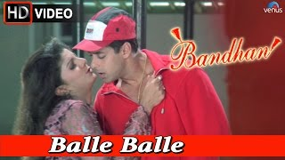 getlinkyoutube.com-Balle Balle (HD) Full Video Song | Bandhan | Salman Khan, Rambha |