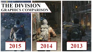 getlinkyoutube.com-(GRAPHICS COMPARISON) THE DIVISION 2015 VS 2014 VS 2013 - GRAPHICS DOWNGRADE?