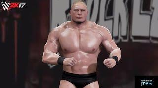getlinkyoutube.com-WWE 2K17 PC Mods: Brock Lesnar Retro (Ruthless Aggression Era 2002-04)