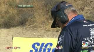 getlinkyoutube.com-Revolver vs. Race Gun - Jerry Miculek at World Speed Shooting Championships - Hot Shots TV