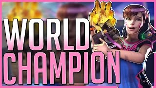 THE WORLD CHAMPION - D.va Lore Bite: Overwatch (Story + Speculation)