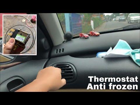 Cara pasang thermostat ac mobil biar dingin nya pas - PEUGEOT 206