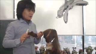 김환올림머리-하위양감패턴1(두정부의 연출)
