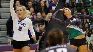 getlinkyoutube.com-2015 Hawai'i vs TCU NCAA Women's Volleyball 1st Round