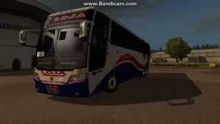 getlinkyoutube.com-Busscar Jum Buss 360 Scania K380 | Transportes Loja Internacional | Euro Truck Simulator 2 | Skin
