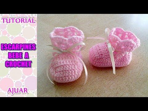 Crochet Tutorial Gorro Bebe Celeste Parte 2 Baby Auto ...