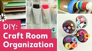 getlinkyoutube.com-DIY Craft Room Organization