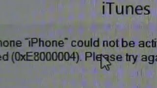 getlinkyoutube.com-Fix iTunes Error 0xE8000004 When Activating iPhone 4