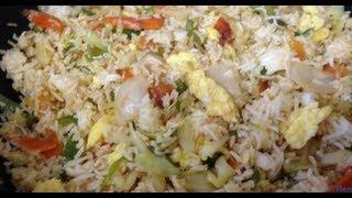getlinkyoutube.com-How to make Vegetable Egg Fried Rice