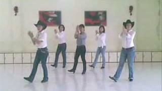 getlinkyoutube.com-Linedance - Boot Scootin' Boogie (Marina Studio '87)
