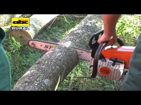 Uso y mantenimiento de la motosierra