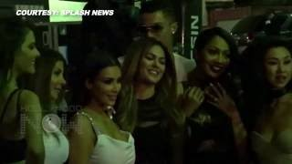 getlinkyoutube.com-Kim Kardashian CAUGHT COZYING with Cristiano Ronaldo | Rare Footage