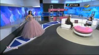 getlinkyoutube.com-فساتين السهرة والأعراس بتوقيع المصممة السعودية ريم الفيصل #برنامج_سيدتي