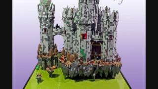 getlinkyoutube.com-Amazing Lego Castle MOCs