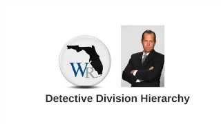 Detective Division Hierarchy