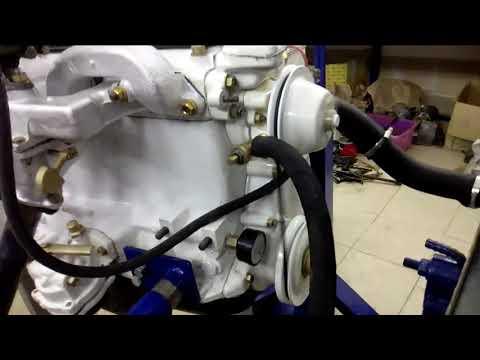Обкатка двигателя газ21