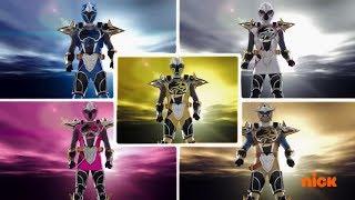 Power Rangers Super Ninja Steel - Super Master Mode & Megazord Fight | Episode 2