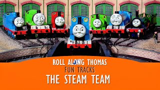 getlinkyoutube.com-Roll Along Thomas - Thomas & Friends - The Steam Team