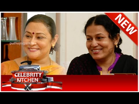 Actress Priya and Sabitha Anand in Celebrity Kitchen (26/10/2014)