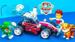 PAW PATROL Nickelodeon Paw Patrol Rocky Builds a Car a Paw Patrol Video Parody