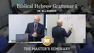 getlinkyoutube.com-Lecture 1: Biblical Hebrew Grammar I - Dr. Bill Barrick