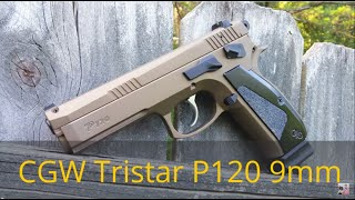 getlinkyoutube.com-Tristar P120 (CZ SP-01 clone) tuned by Cajun Gun Works