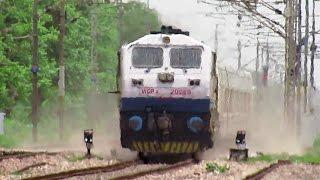 getlinkyoutube.com-180 KM/HR TRIAL RUNS : Talgo Train surpassed Gatimaan Express Speed on IR's Fastest Rail Sector..!!