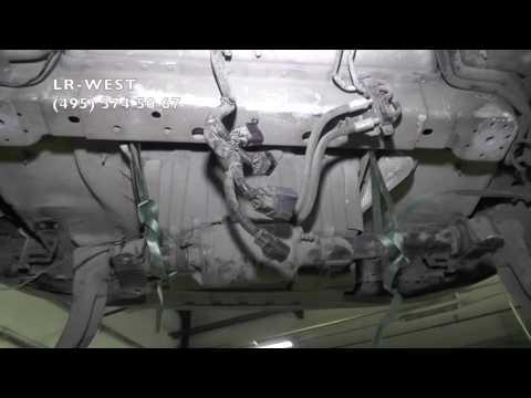 Расположение радиатора печки в Лэндровер Defender