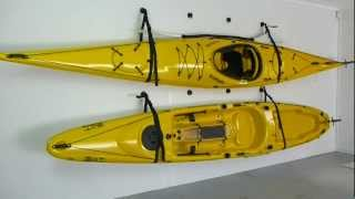 getlinkyoutube.com-How to Store a Kayak with the RAILBLAZA StarPort Wall Sling