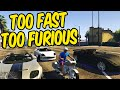 GTA 5 PC Funny Moments - Too Fast Too Furious