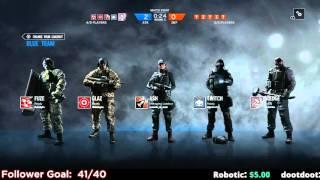 getlinkyoutube.com-Rainbow Six Siege Tactical Squad Gameplay PC - 1 / 2