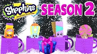 getlinkyoutube.com-SHOPKINS 2 Crystal Glitz Fluffy Baby Surprise 12 Pack Shopkin Christmas 2014 Toys by DCTC