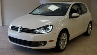 getlinkyoutube.com-2012 Volkswagen Golf TDI Tech Package 2-Door LED Lights