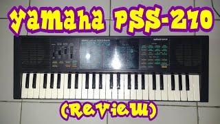 Mini Keyboard Yamaha PSS-270 (Review)