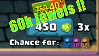 getlinkyoutube.com-Clash Of Lords 2- massive 60K+ jewels x3 spin with Lucky spins !!!!!