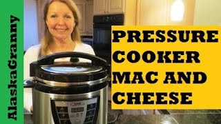 getlinkyoutube.com-Pressure Cooker Macaroni and Cheese - Step by Step Directions