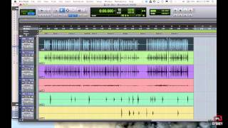 Pro Tools for Beginners Tutorial - Part 1 - Navigation