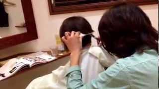 getlinkyoutube.com-ショートボブ サイド刈り上げ 成田市美容室 リリヘアー