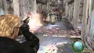 getlinkyoutube.com-Resident evil 4 Modo Imposible Motosierras Superado