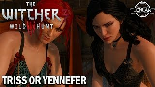 getlinkyoutube.com-The Witcher 3: Wild Hunt - Triss or Yennefer (Bad Choice Romance Ending)