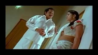 Actress Sneha sweaty navel and hot hip show