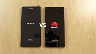 getlinkyoutube.com-Sony Xperia Z3+ VS Huawei P8 - Speed & Camera Test!