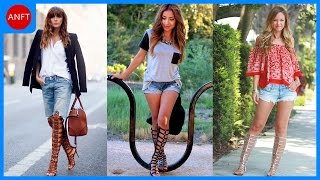 getlinkyoutube.com-How to Wear Gladiator Sandals - Fashion Inspirations