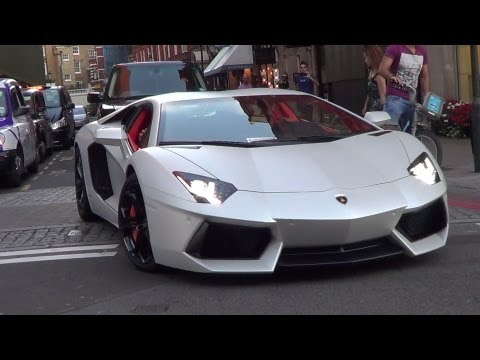 LOUD Arab Lamborghini Aventador - DOWNSHIFTS & ACCELERATIONS!!